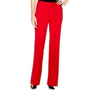 Worthington Pants - Red dress pant